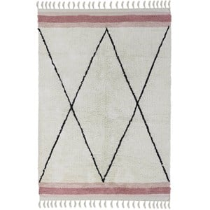 Image of Tapis Petit Ethnic Tæppe Lyserødt one size (1953173)