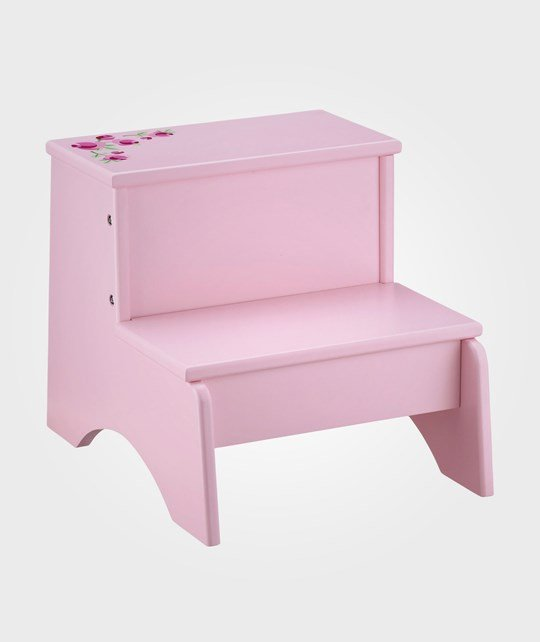 Kids Concept Trappstegspall Rosa Pink