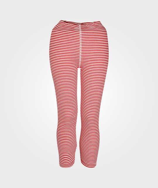 Joha Leggings Red Stripes Red