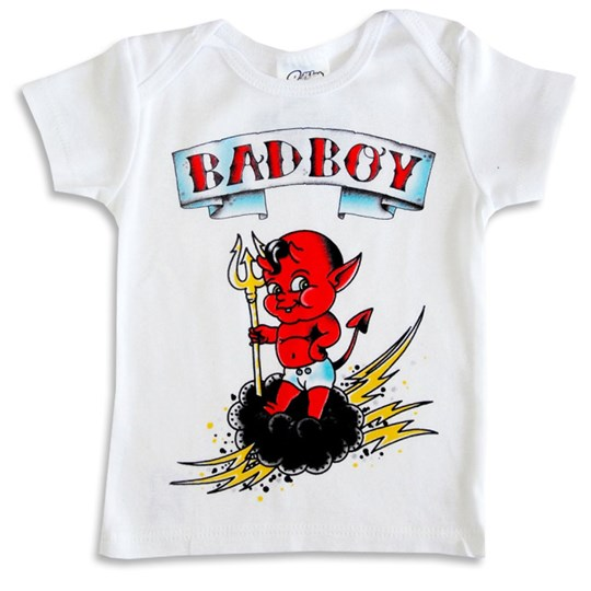 Ruthless & Toothless Tshirt Bad Boy Beige