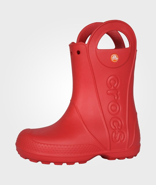 Crocs Handle It Rainboot Red Red