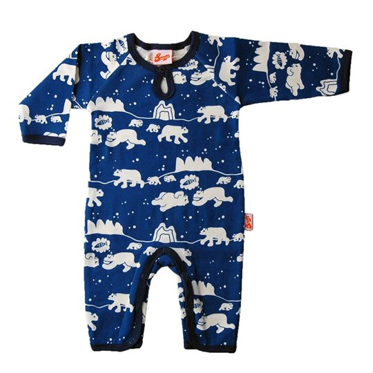 Snoffs Bodysuit Polar Bear Blue