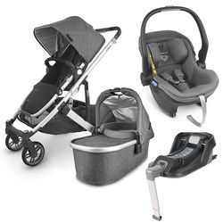 UPPAbaby CRUZ V2/Mesa i-size Stroller With An Infant Carrier And An Isofix Base Jordan