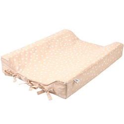Buddy & Hope Dotted Changing Pad Sand