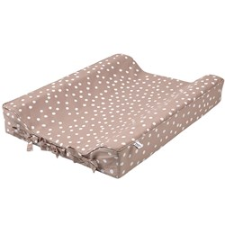 Buddy & Hope Dotted Changing Pad Taupe