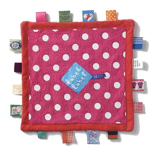 Label-Label Baby Blanket Dots Pink Pink