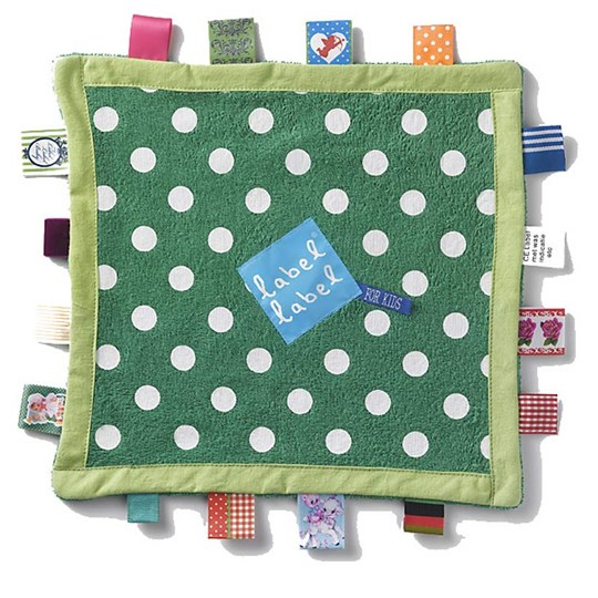 Label-Label Baby Blanket Dots Green Green