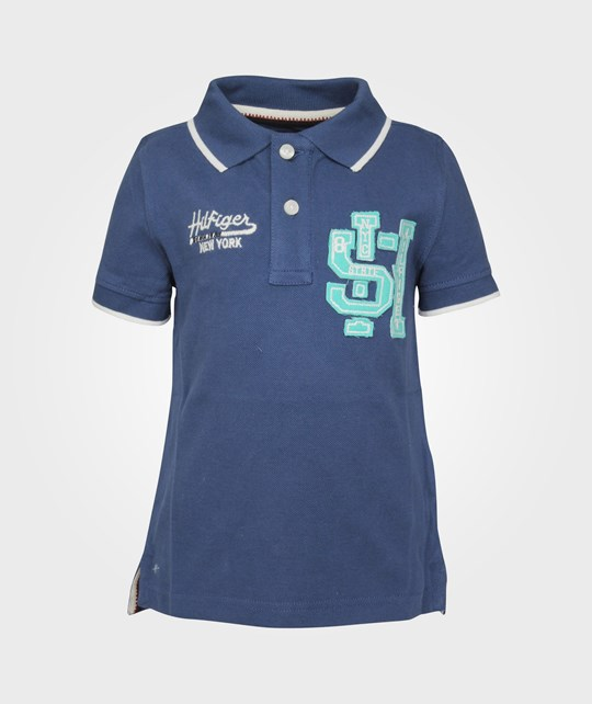Tommy Hilfiger Badge Polo SS True Navy Blue