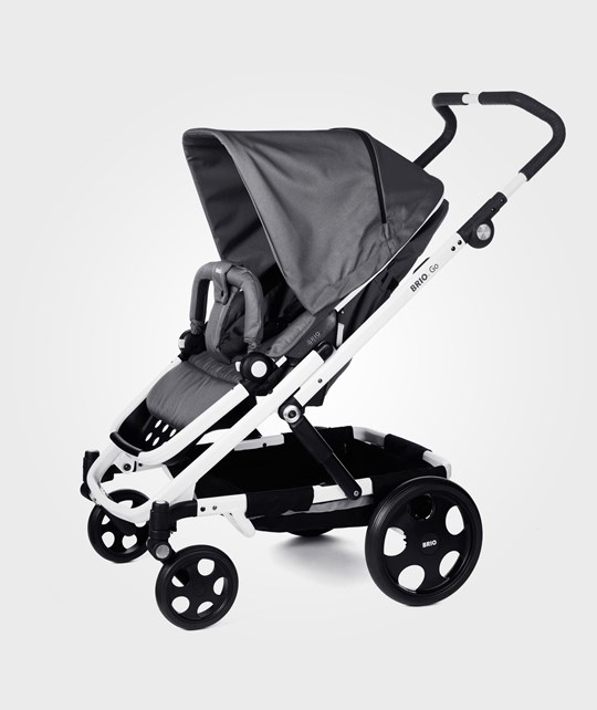BRIO Go Stroller 2014 Grey With White Chassi Grey