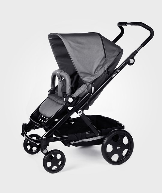 BRIO Go Stroller 2014 Grey With Black Chassi Black