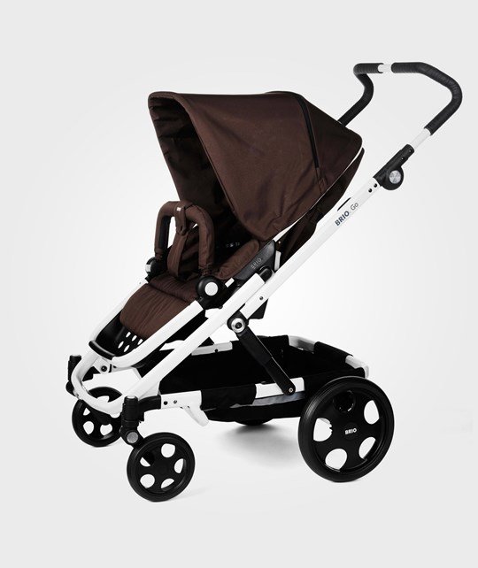BRIO Go Stroller 2014 Brown With White Chassi BROWN