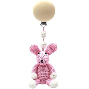 Image of natureZOO Trolley Mobiles - Rabbit, Light Pink 0 - 12 mdr. (1483474)