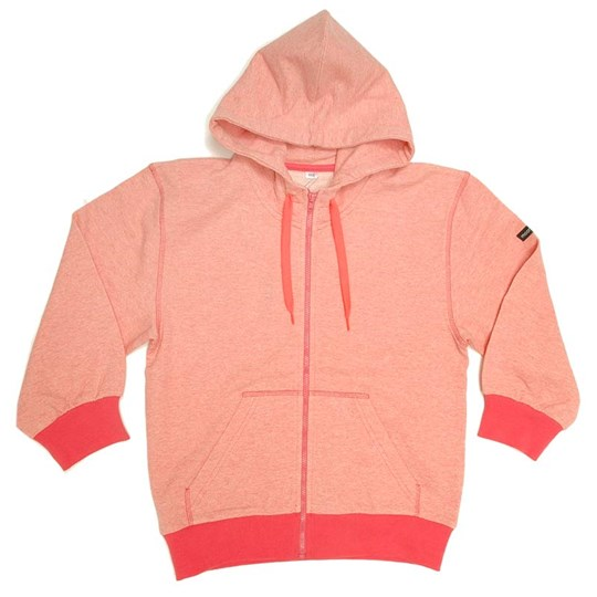 Moonkids Hoodsweater Light Red Red