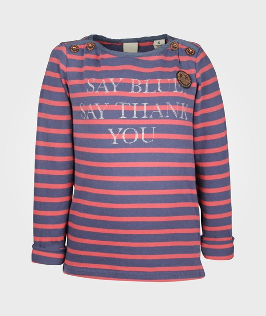 Scotch R'belle Striped Crew Neck Sweater Red Red