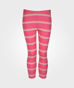 Livly Essential Pants Hot Pink With Beige Lace