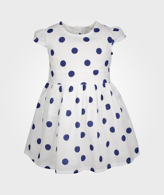 United Colors of Benetton Dress White With Dots 20