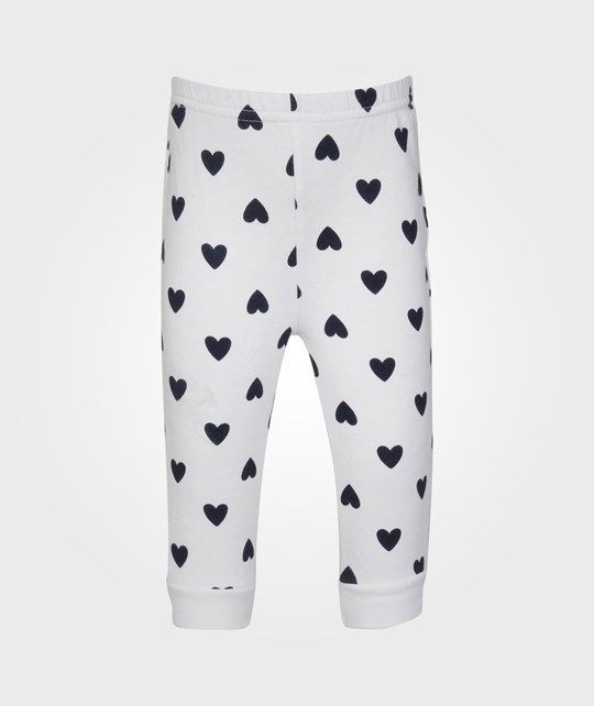 United Colors of Benetton Trousers White With Hearts 20
