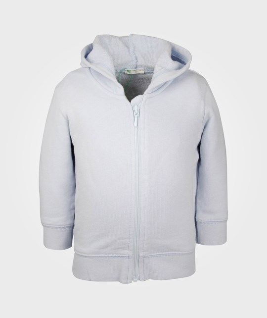 United Colors of Benetton Pullover w/hood Light Blue 20