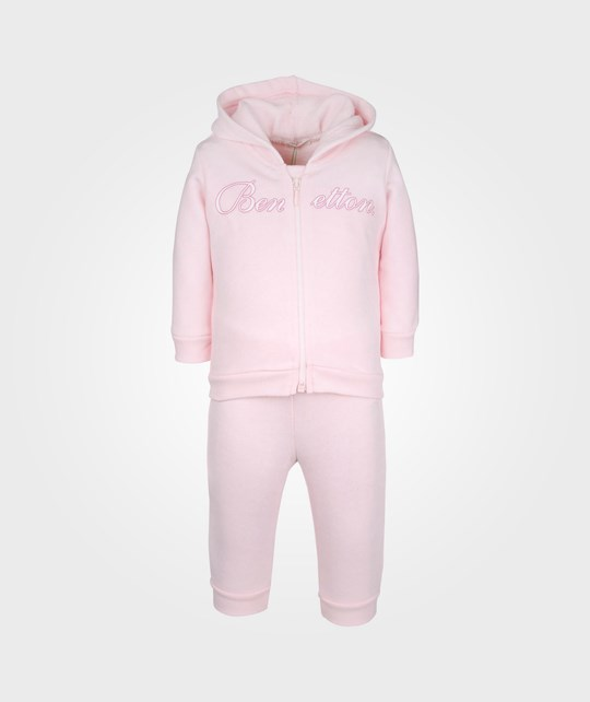 United Colors of Benetton Set jacket + trousers Light Pink 20