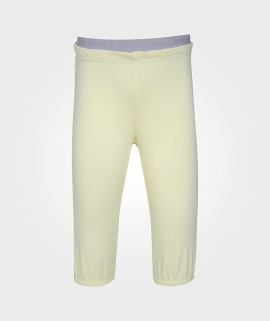 United Colors of Benetton Trousers Light Yellow 20