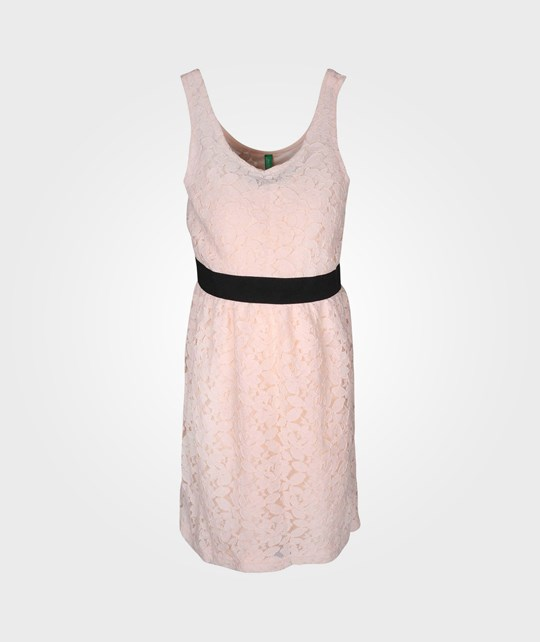 United Colors of Benetton Dress Lace Nude 20
