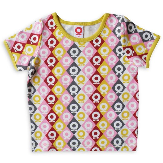 Katvig T-shirt Pink Lemon Harlequin Apple Multi