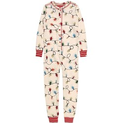 Hatley Holiday Lights One-piece White