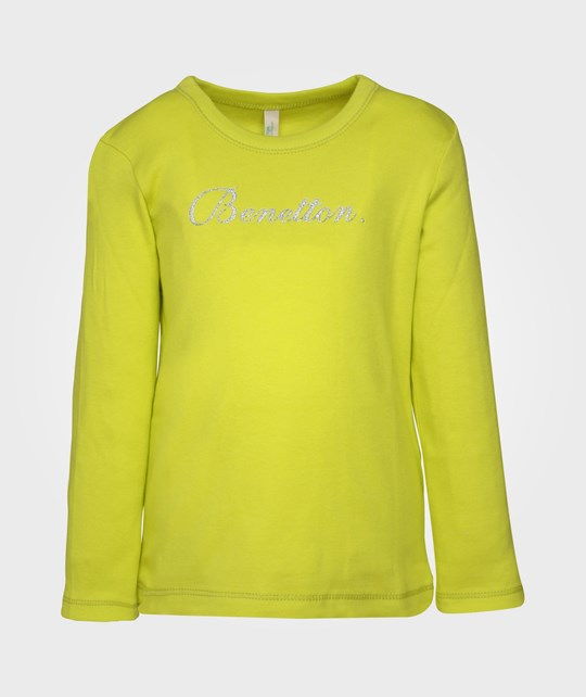 United Colors of Benetton T-shirt l/s, Yellow 20
