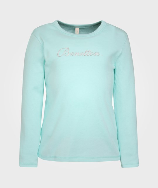 United Colors of Benetton T-shirt l/s, Light Turquoise 20
