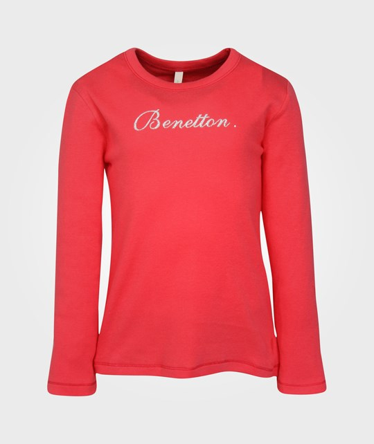 United Colors of Benetton T-shirt l/s, Raspberry 20