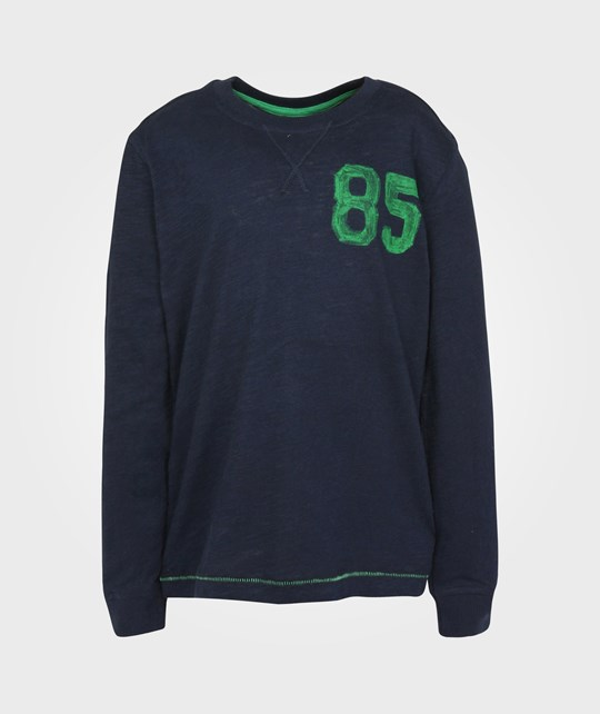 United Colors of Benetton T-shirt l/s Navy/Green 20