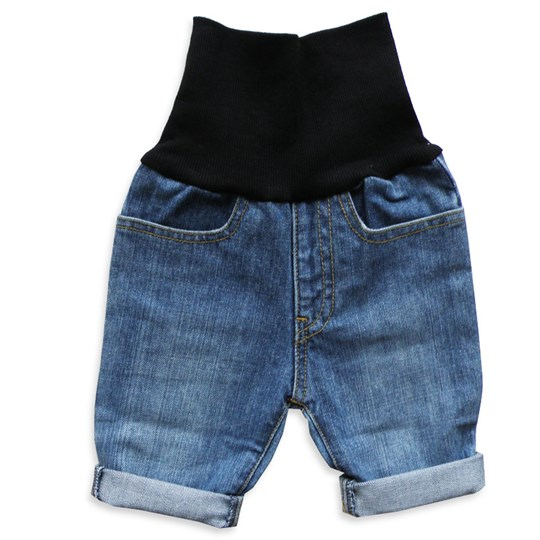 The BRAND Jeans Shorts Used Blue