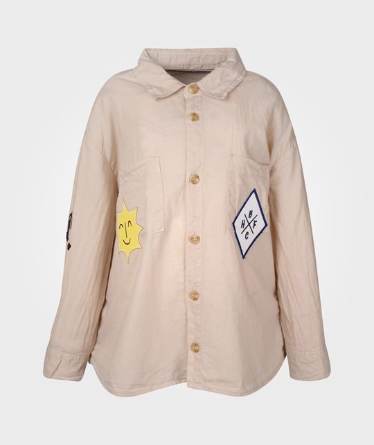 Bobo Choses Long Sleeve Shirt Toasted Beige
