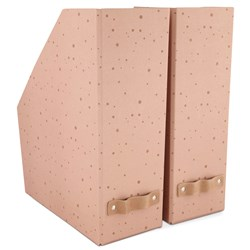 JOX 2-Pack Stars Magasinfil Rosa