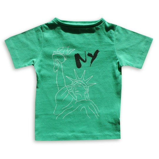 The BRAND Tee NY Green Green
