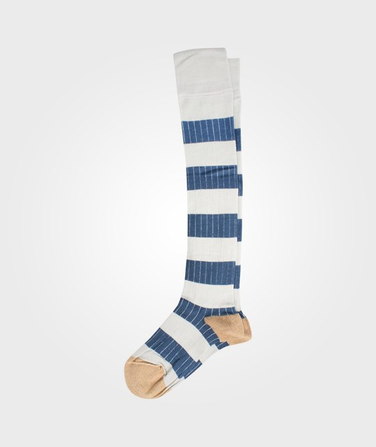 Bobo Choses Long Sock Blue Blue