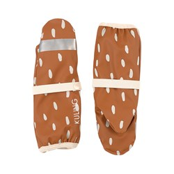 Kuling Vilnius Recycled Regnvotter Brown Dots