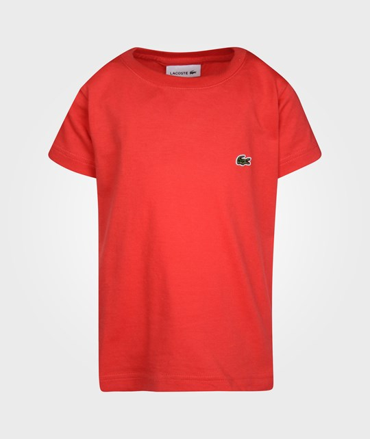Lacoste T-shirt Pavot Red