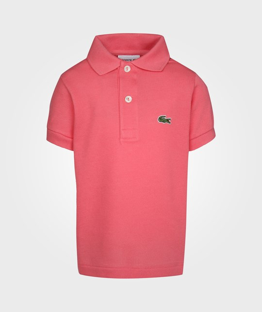 Lacoste Basic Polo Coral Pink
