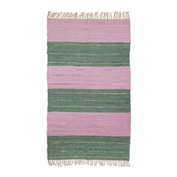Rice Teppe Green/Pink
