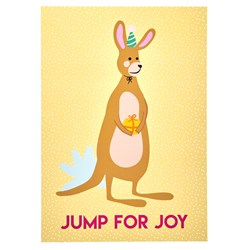 Rice A3 - Jump For Joy Poster