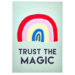 Rice A3 - Trust The Magic Poster