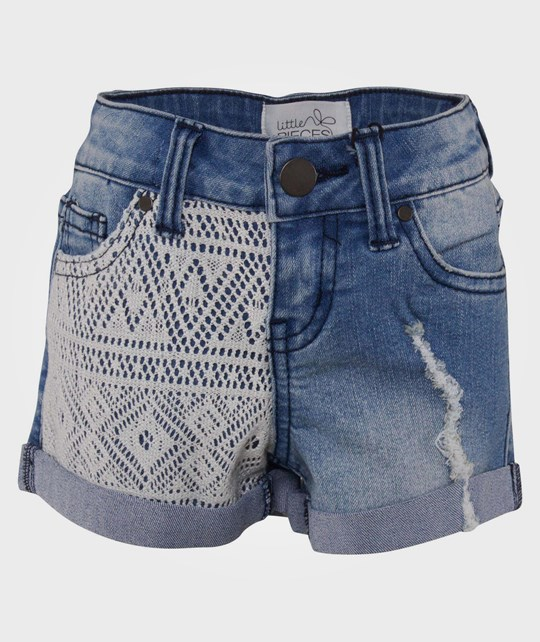 Little Pieces Little Funky Anita Long Shorts Blue Blue