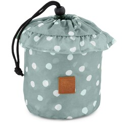 Buddy & Hope Dotted Universal Rain Cover Green