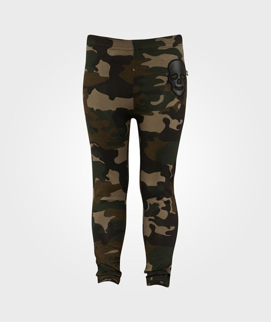 The BRAND Laila Bagge Leggings Camo Green