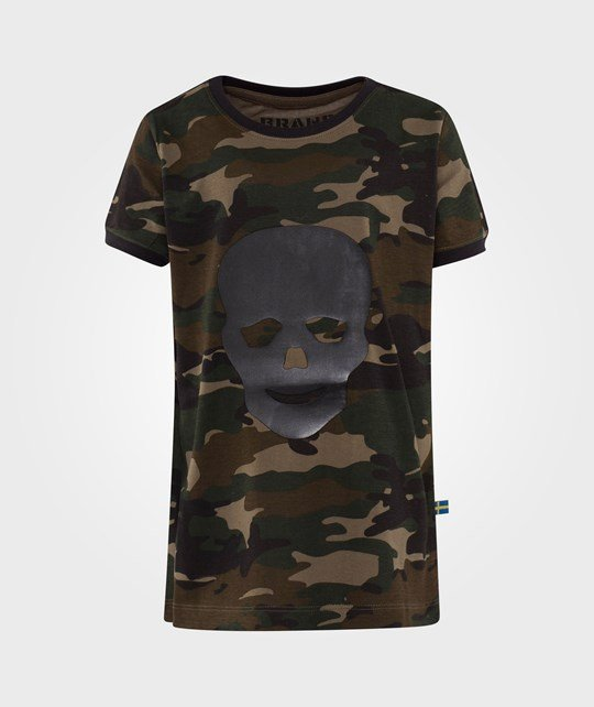 The BRAND Laila Bagge Tee Camo Green