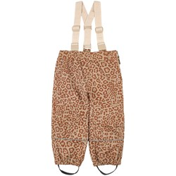 Kuling Going Shell Pants Brown Leopard
