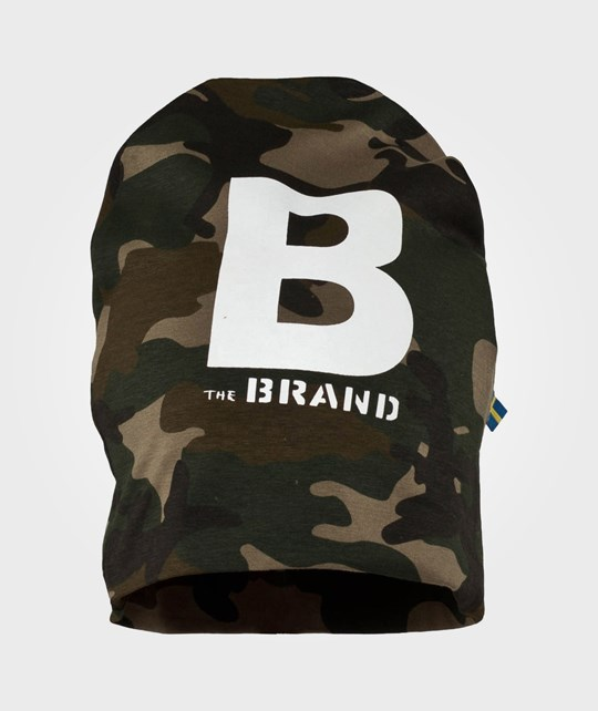 The BRAND Hat Camo Green