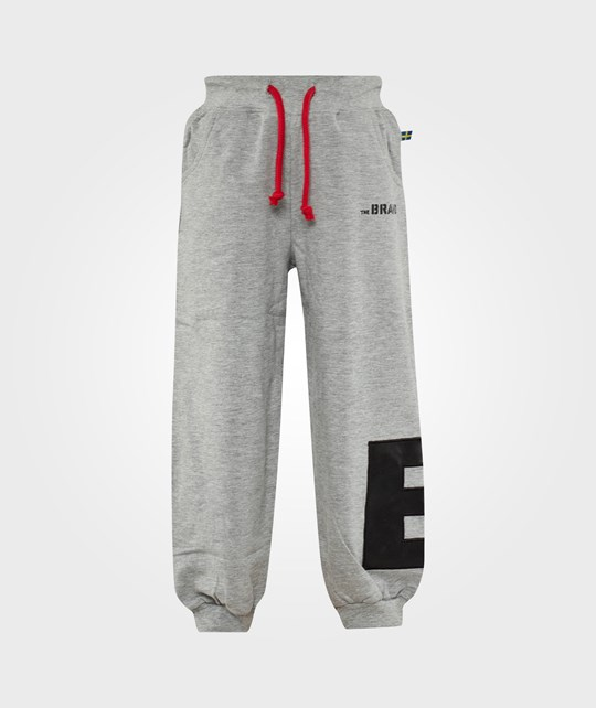 The BRAND B Pant Grey Melange Black