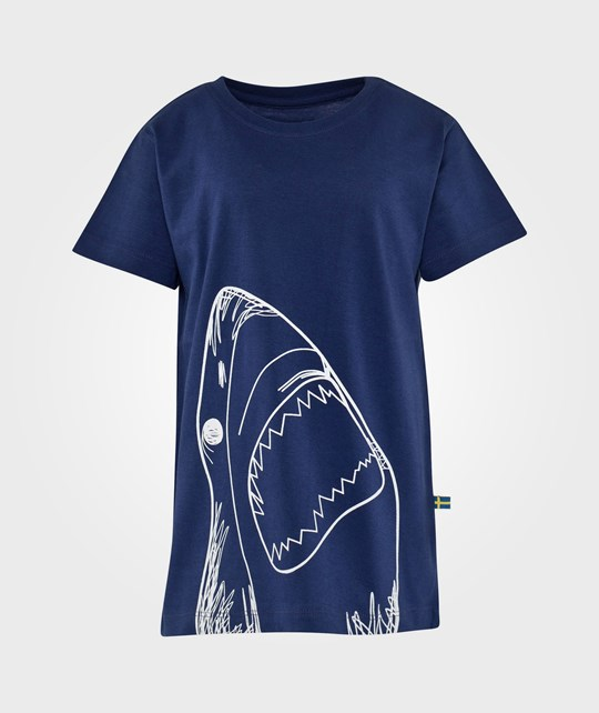 The BRAND Shark Tee Blue Blue